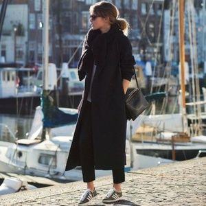 Like New Fleurette 100% Cashmere Trench Coat Wool